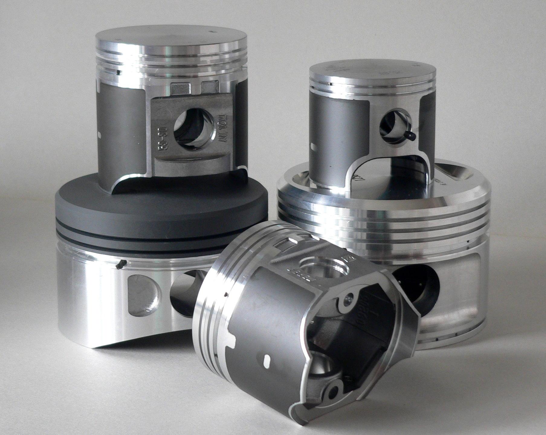 ALMET Aluminium pistons